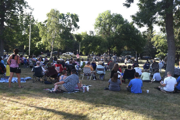 188th Army Band playing in Elmwood Park