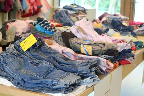 Rummage sale clothes 2