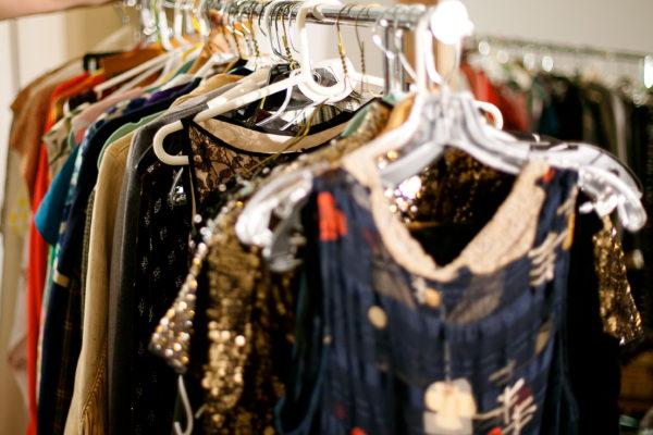 Rummage sale clothes